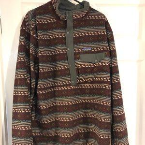 Patagonia reversible pullover